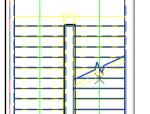 如何在二层平面图隐藏一层的楼梯