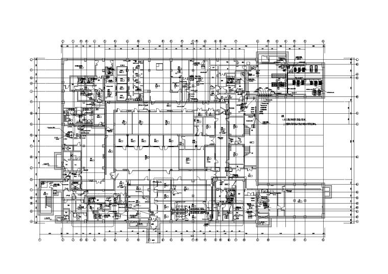 北京清华大学全球学者项目电气施工图