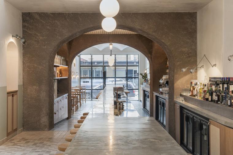 澳大利亚清新的意大利风格餐厅