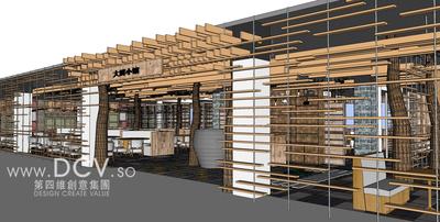 西安主题餐厅设计-大厨小馆特色餐厅徐家湾店-西安价格合理的主题餐厅设计-大第1张图片