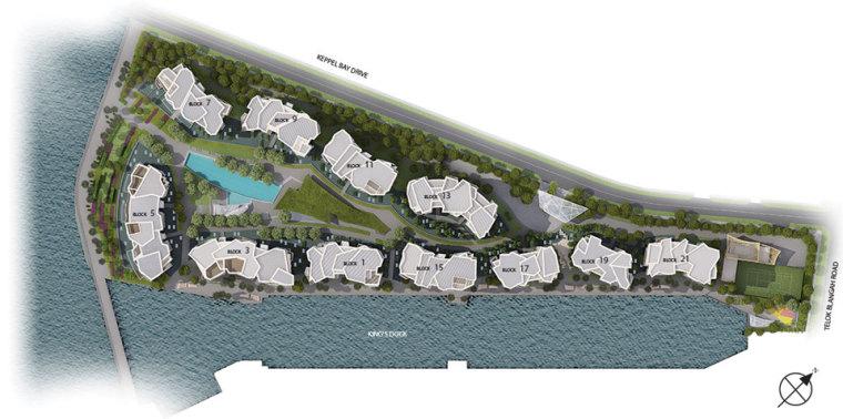 新加坡吉宝湾丽珊景住宅景观设计_2