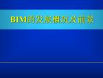 BIM技术的发展概况及前景
