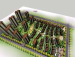 特色小区景观建筑设计模型