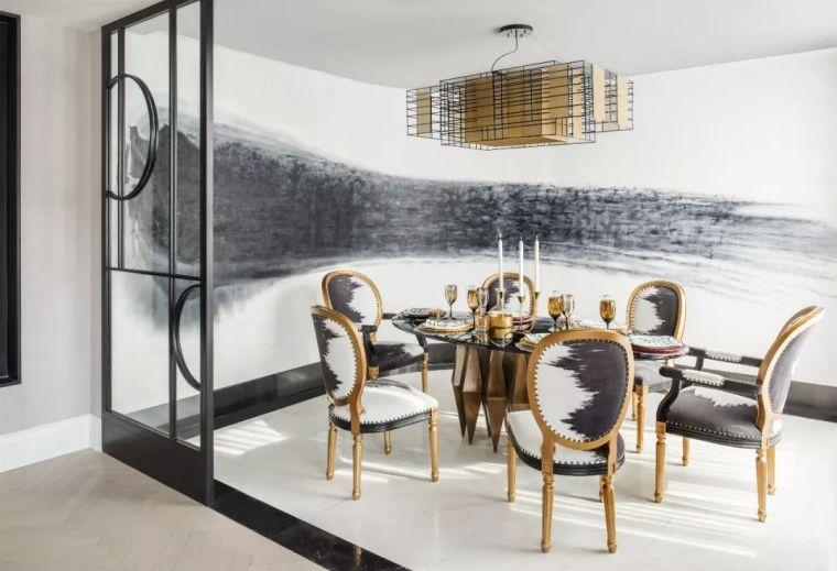 跃层都市公寓融入4种风格后,竟然如此惊艳!_15