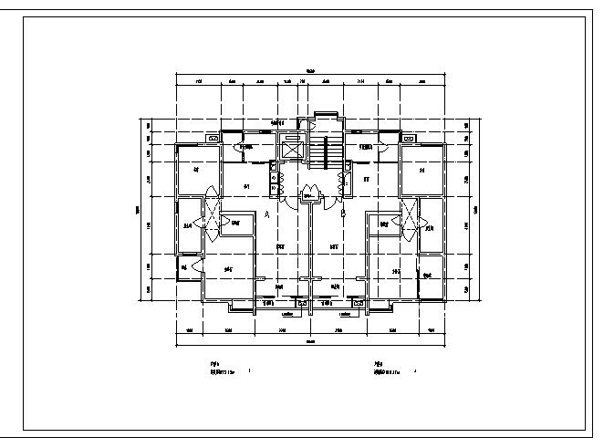 松邦-按面积分类新户型平面(50张80-160平米)