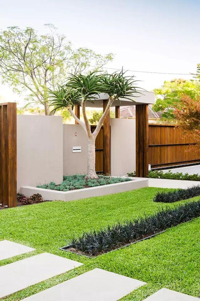 赶紧收藏!21个最美现代风格庭院设计案例_177