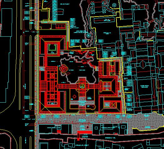 苏州博物馆超全CAD施工图(贝律铭经典)