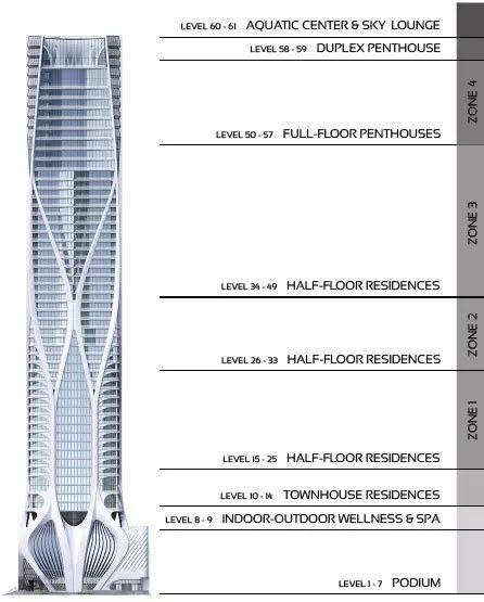 扎哈生前设计的最后一栋公寓楼,一套卖3亿_16