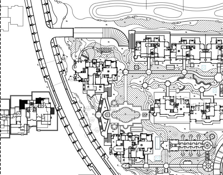 [江苏]某居住区住宅景观设计全套施工图(PDF+81页)