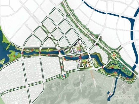[长沙]滨水休闲宜居新城景观规划设计方案