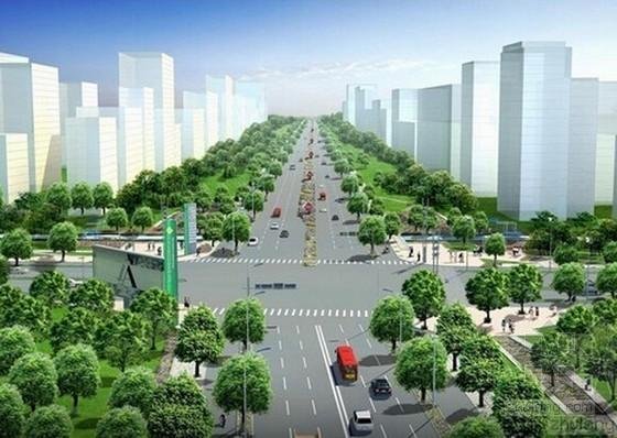 [重庆]工业园区道路工程招标文件(含投资估算表 施工图纸)