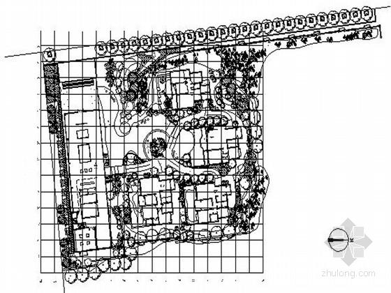 [河南]湖畔生态豪宅售楼处园林设计施工图