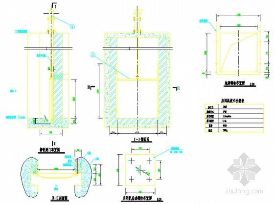 小型农田水利工程施工设计图集99张