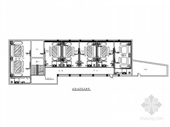 [原创]复古绚丽欧美风KTV室内施工图(含效果图)