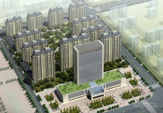 [河南]26层现代风格高档酒店公寓设计方案文本
