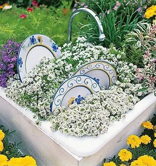 21种方法种花,比在花盆里美十倍!_7