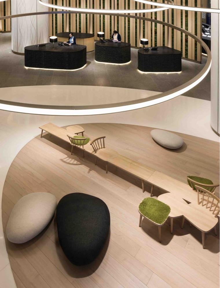 Aedas Interiors为香港诺富特世纪酒店大堂打造极简雕塑美学