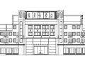 广州豪泉大酒店现代多层酒店建筑设计施工图CAD