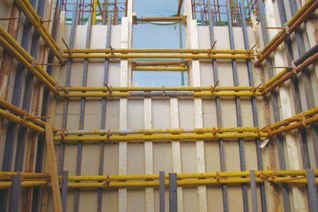 模板安装工程检验批质量验收记录表