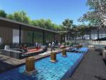 [浙江]中式复合型现代都市住宅展示区景观设计方案