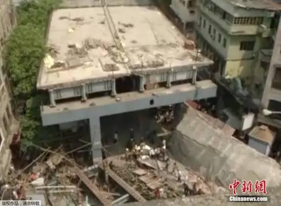一在建高架桥倒塌,致18人死亡,事故原因还在调查_8