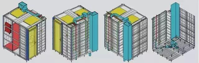 看BIM如何贯彻装配式建筑全生命周期!一体化装修亮了!_16