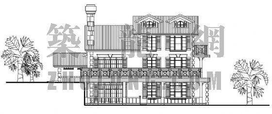 经典小型别墅方案系列6