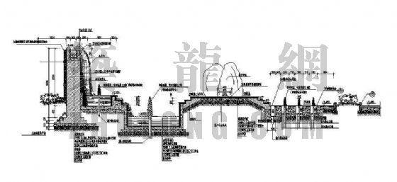 特色跌水景墙详图-3