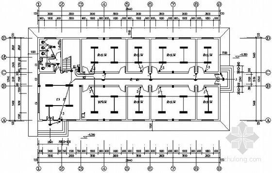 两层小办公楼全套电气施工图纸
