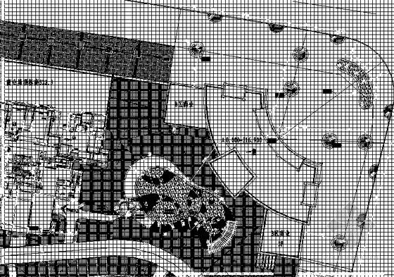 [重庆]楼盘样板房环境景观设计施工图