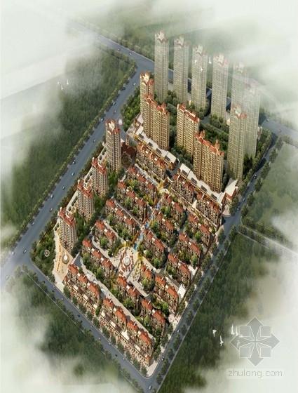 [青岛]现代风格住宅区规划及单体设计方案文本