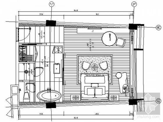 [三亚]某主题酒店A客房施工图