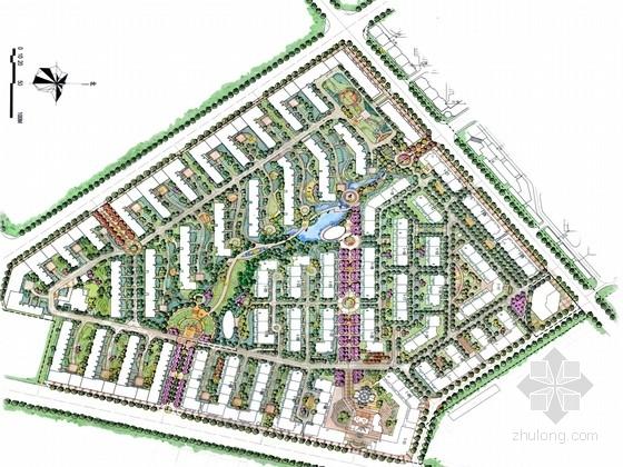 [哈尔滨]风情小镇住宅区规划设计方案