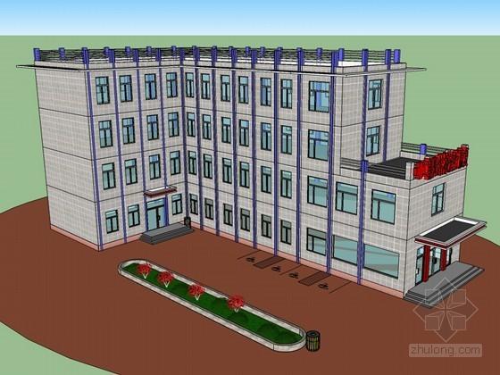 现代建筑SketchUp模型下载