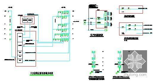 [全套]湖南保障房项目消防工程量清单控制价编制实例(含招标文件施工图纸300张标底)-2号楼电气系统图