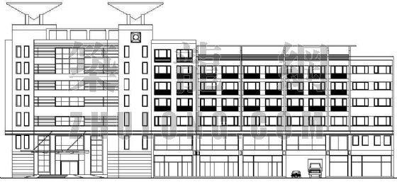 某商务休闲楼建筑设计方案