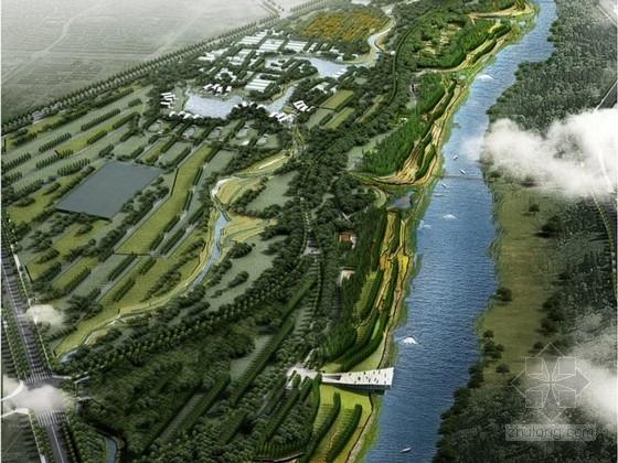 [河南]城市滨河生态休闲景观游憩带概念方案(国内著名景观公司)