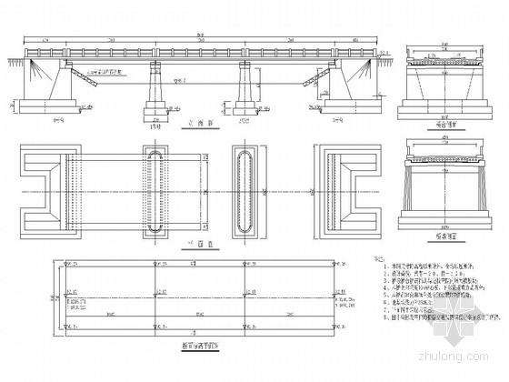 3-10米钢筋混凝土板桥施工套图(23张 适用广泛)