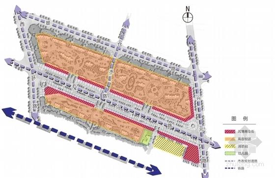 [陕西]现代绿色宜居高层安置住宅小区规划设计方案文本(含CAD)-现代绿色宜居高层安置住宅小区分析图