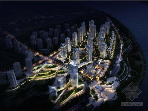 [重庆]现代风格商业综合体地块设计方案文本(知名设计院)