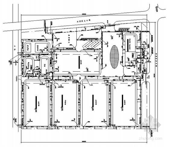 某丝织厂厂区给排水施工图