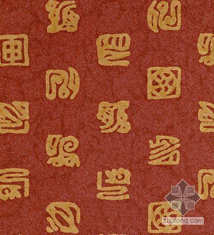 中式靠枕贴图