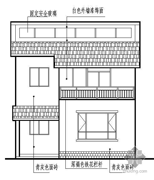 [绵阳]某二层新农村住宅建筑结构水暖电施工图