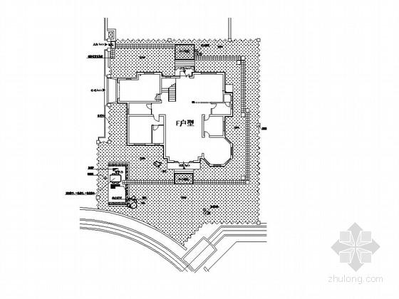 别墅庭院景观设计施工图
