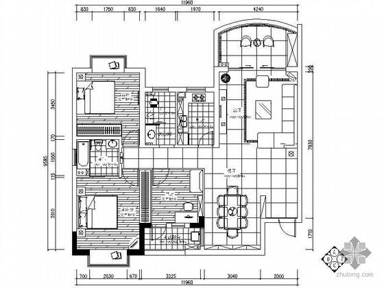 [湖南]某三室两厅装修图