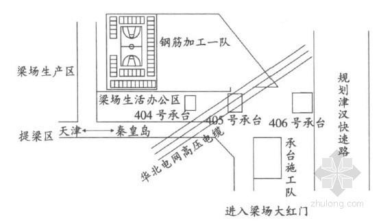 500kV高压线下钻孔桩施工技术