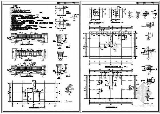 某剪力墙开洞加固结构设计图