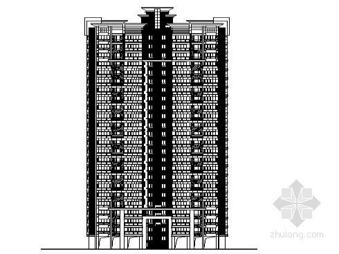 [东莞市]某镇社区农民公寓11号楼建筑施工图(含节能设计)