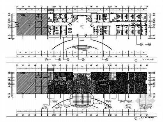 某市老年活动中心室内装修施工图