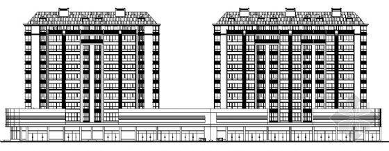某十一层高层商住楼建筑施工图